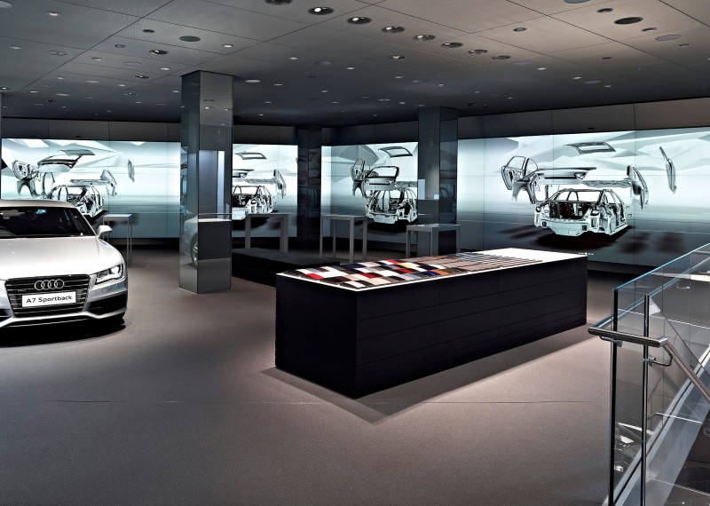 AUDI – Digital Car Showroom