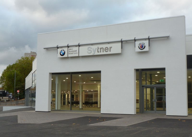 Sytner Bmw Used Car Showroom Mcdowall Air Conditioning