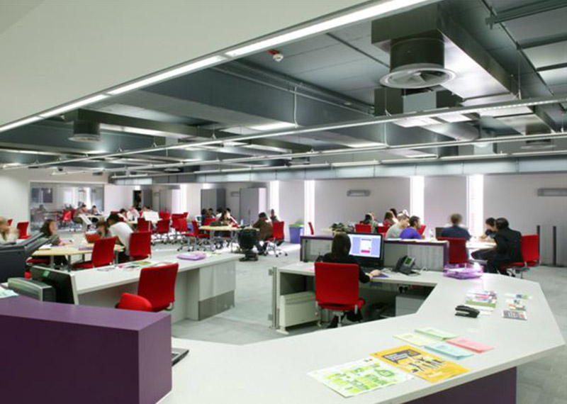 Aston University Library Mcdowall Air Conditioning