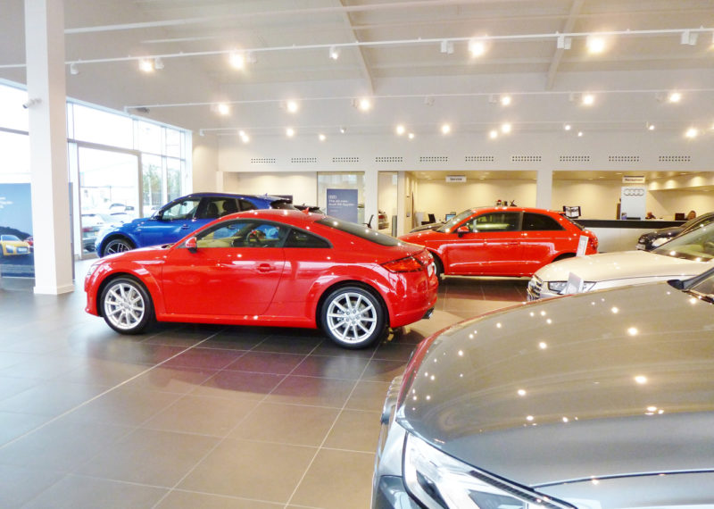 Listers Audi Showroom Stratford Upon Avon